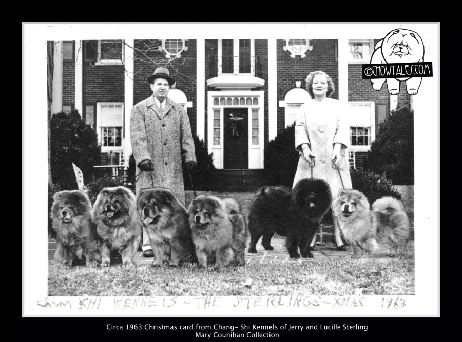 1964 The Sterlings xmas card Chang Shi Kennels - Version 2 (1 of 1)