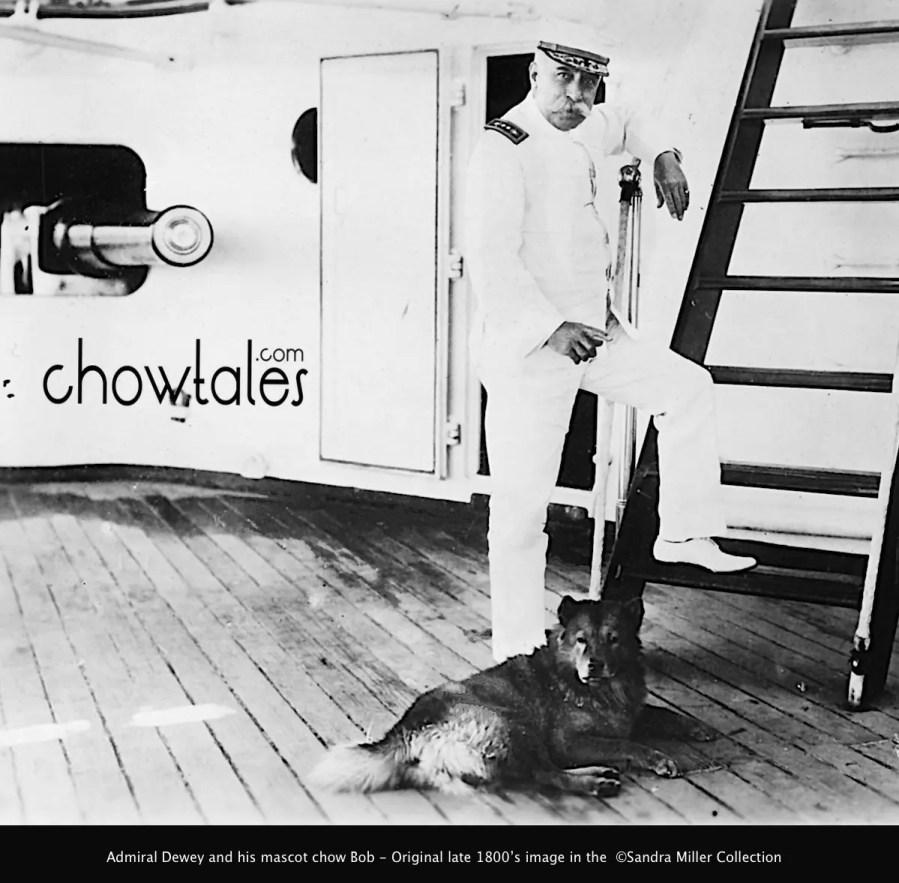 Admiral Dewey and Bob 1900s