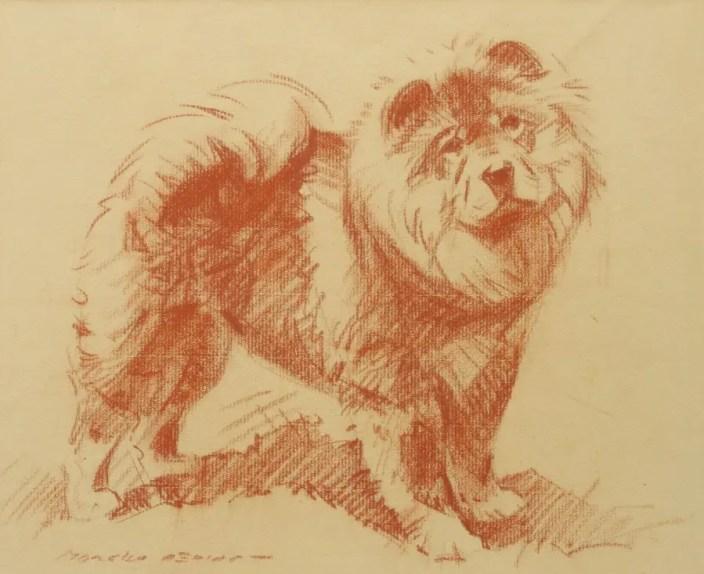 Gallery MORGAN DENNIS CRAYON 1935