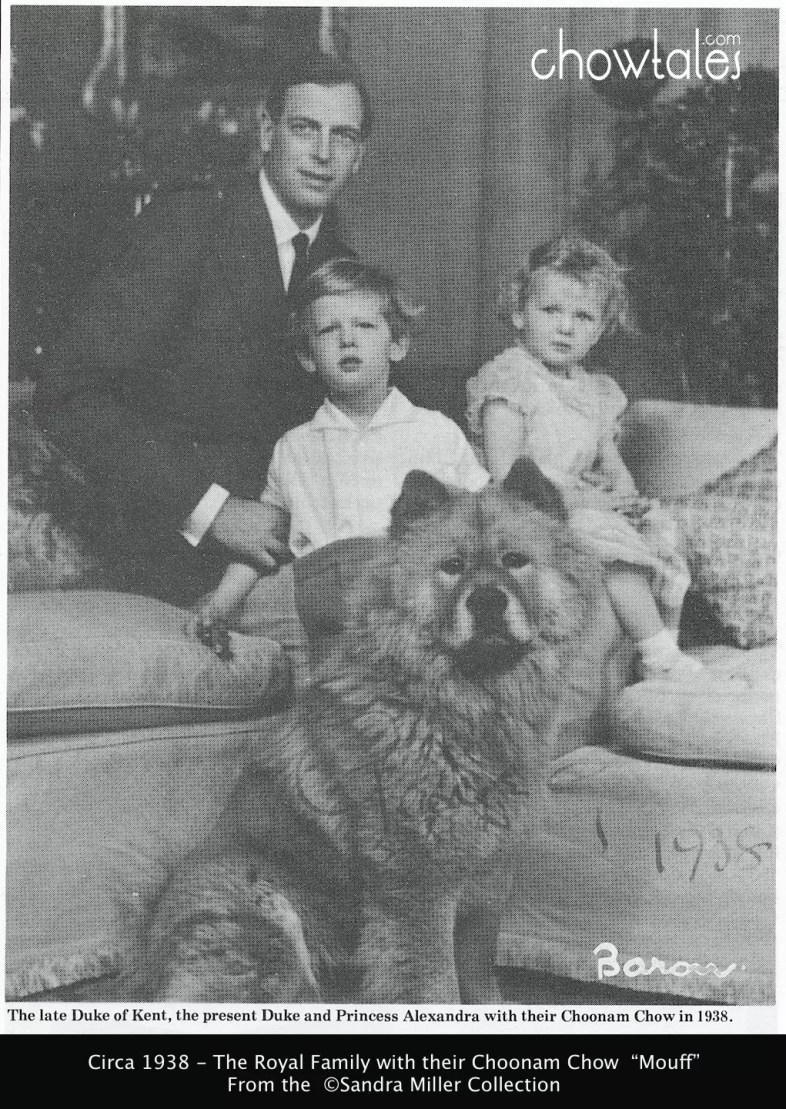 Duke of Kent Princess Alexandra 1935 Mouff Kennel Gazette 5535