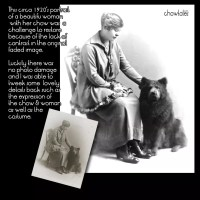 Restoration projects – Early 1900's women and chows