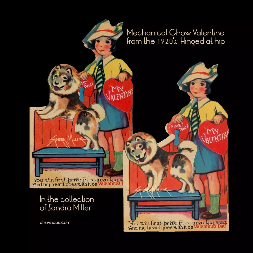 chow valentine hinged 1920's