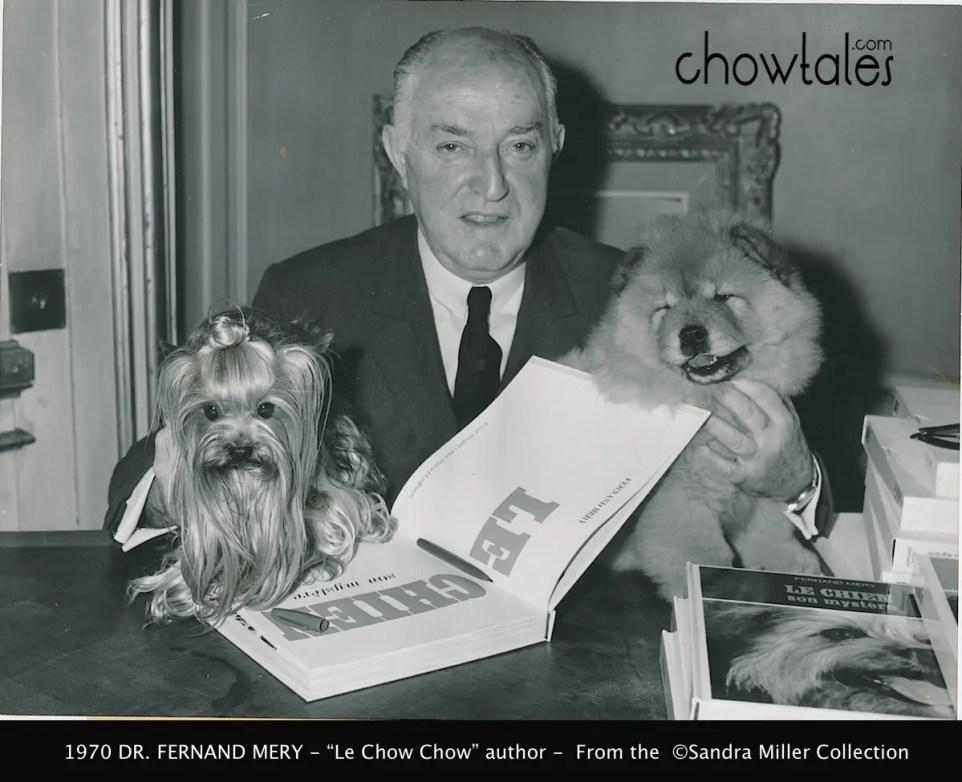 Dr Fernand Mery Le Chow Chow author 1970 5500