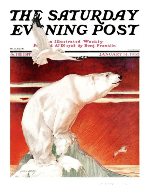 JACK MURRAY illustrator Saturday Evening Post