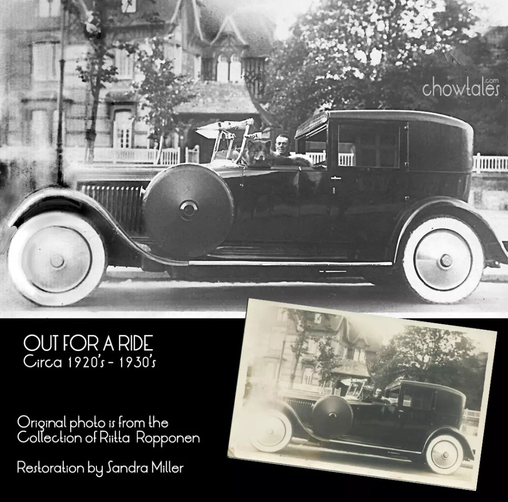 RIITTA ROPPONEN RESTORED CAR CHOW