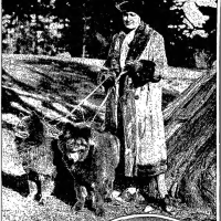 CIRCA 1931   Southern Chow Club –  Trophy promoting blue and black breeding