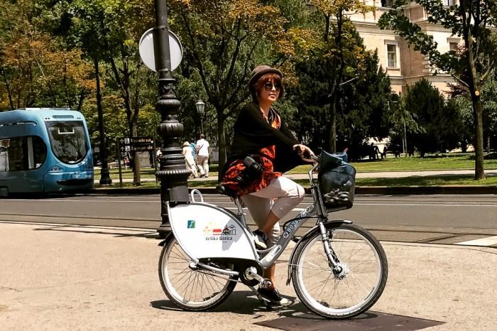 克羅埃西亞首都 Zagreb騎公共單車自助觀光真方便 @nextbike croatia