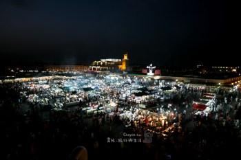 世界最早還現役中最大市集 北非風情 摩洛哥 馬拉喀什市集 marrakech  法國人的後花園