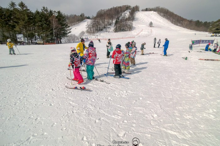 草津溫泉滑雪場 天狗山兒童滑雪樂園 托兒設施 白根山登人