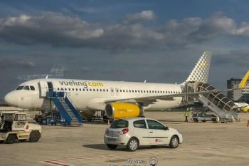 歐洲LCC開艙文  巴黎維也納來回 A320 伏林航空vueling air 航廈介紹