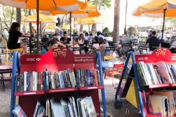 紐約市中心 黃金地段竟然可以免費閱讀,免費桌遊,免費心靈休憩空間@Bryant Park