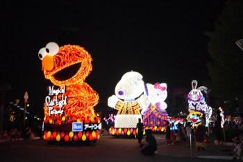(日本)20100726 大阪環球影城USJ((花車遊行)
