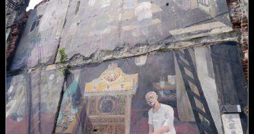 (台灣好好玩) 街頭裝置藝術@台南海安街道美術館 (88安平線-神農街站)