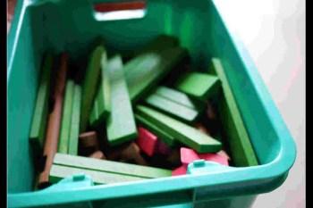(好物推薦) 班恩傑尼木屋王創意積木桶<---小孩自己動手蓋房子!!