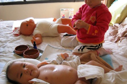 (choyce育兒經)嬰幼兒按摩促進親子互動