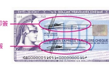 (歐洲) 旅行支票使用方式(美國運通)