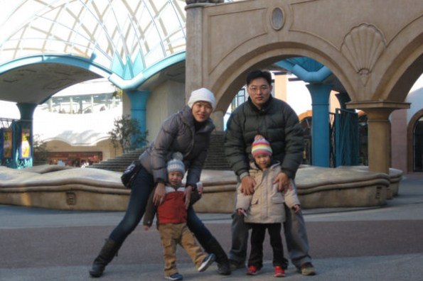 親子遊日本 東京迪士尼樂園 我們來囉!