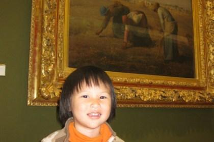 (親子遊巴黎) 奧塞美術館與塞納河遊船
