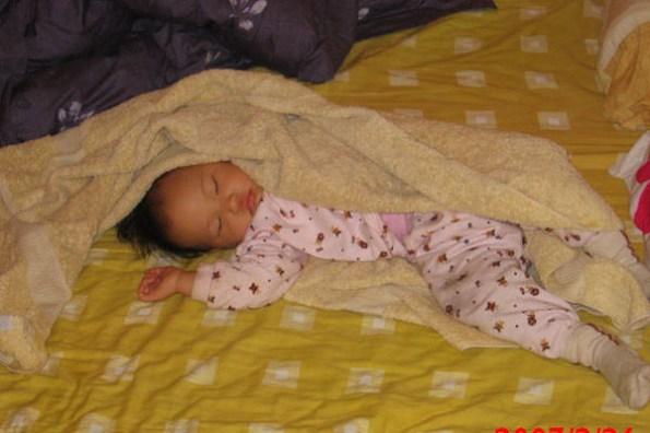 小喬睡前的儀式