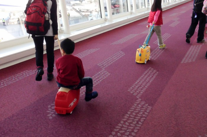 (好物推薦) 小小孩自己收行李 Trunki 造型行李箱 特價出清還送SAVEX草莓護唇膏
