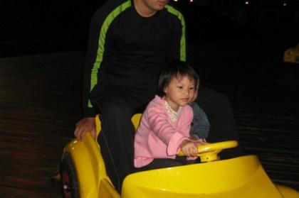 (台灣好好玩) 新竹南寮漁港小型電動車遊戲場