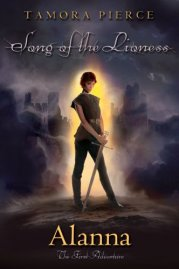 Alanna: The First Adventure by Tamora Pierce cover redesign