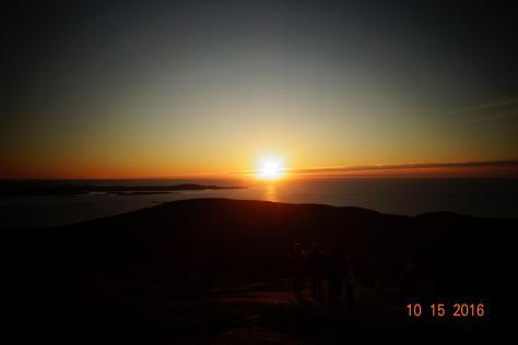Sunrise on Cadillac Mt.
