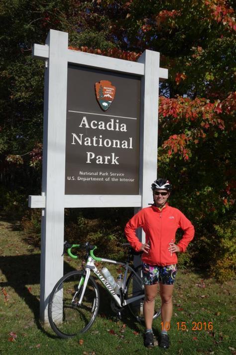 Rachel w/ Acadia Sign
