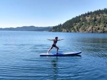 Flathead SUP Yoga