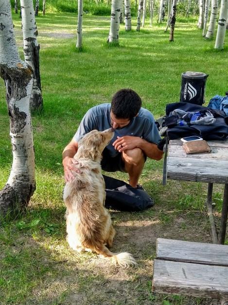 Hank @ Squirrel Creek Campsite