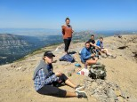 Table Mt. Summit Lunch
