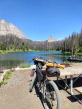 Lake atop Togwotee Pass