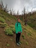 Descending Mt. Darby