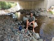 Enjoying a stream crossing