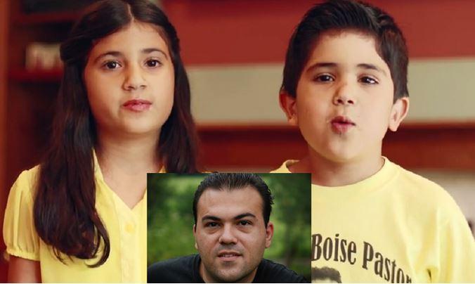 Les enfants du Pasteur Saeed Abetini emprisonné pour sa foi en Iran
