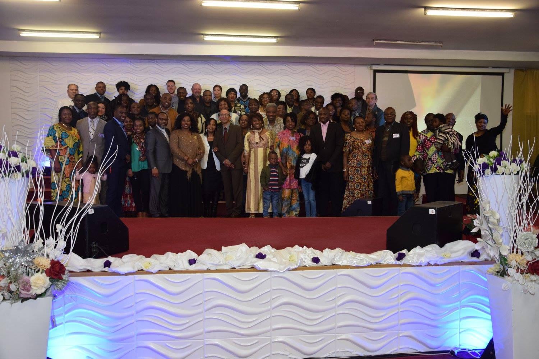 Participants au seminaire du couple pastoral Christian et Jacqueline Merlo en avril 2016