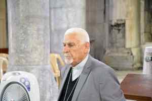 L'archevêque syro-catholique de Mossoul, Mgr Petros Mouche