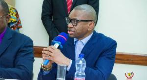 Pasteur Sony Kafuta, le président de l'ERC