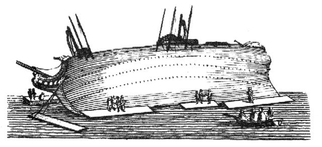 Falconer Plate I.5 - Careening