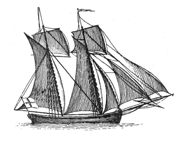 Falconer Plate XII Schooner