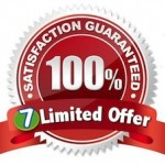 limited offer with 7 year guarantee logo