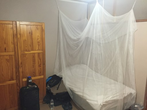 Installing our own mosquito net
