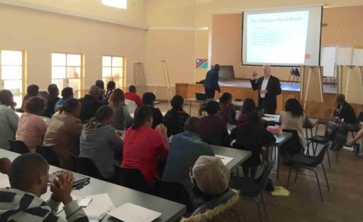 This past week saw us put on a 4-day workshop on business skills to 60 eager entrepreneurs and local business owners.