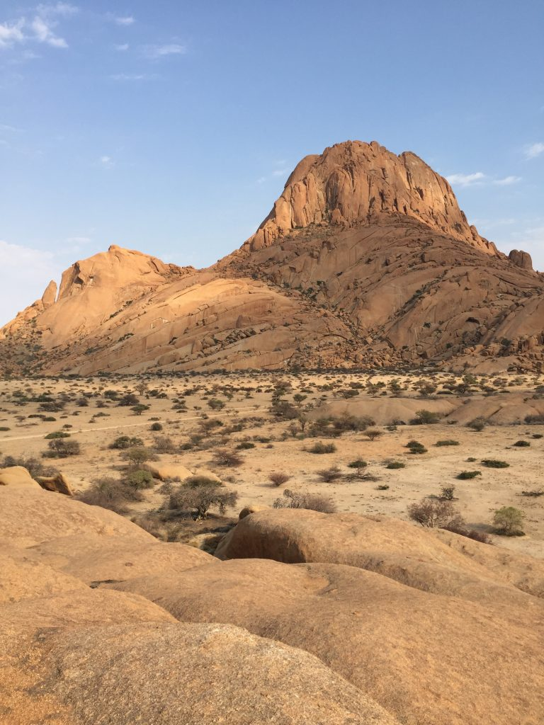 Backpacking at Spitzkoppe