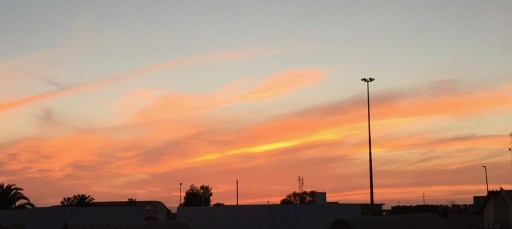 I think my favorite part of my home is the incredible sunsets each night. Here are just a few examples...