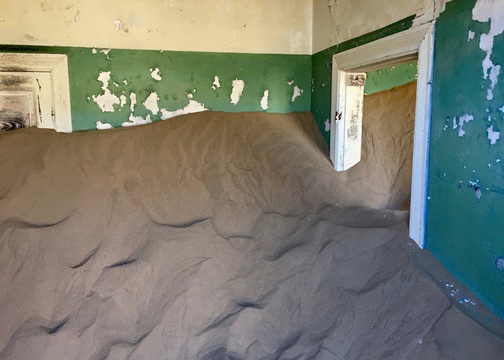 Kolmanskop – a relatively new ghost town