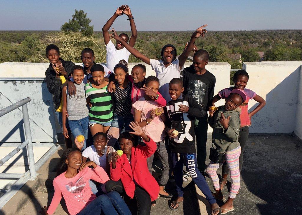 Tov Tsumeb Orphanage visits Etosha National Park