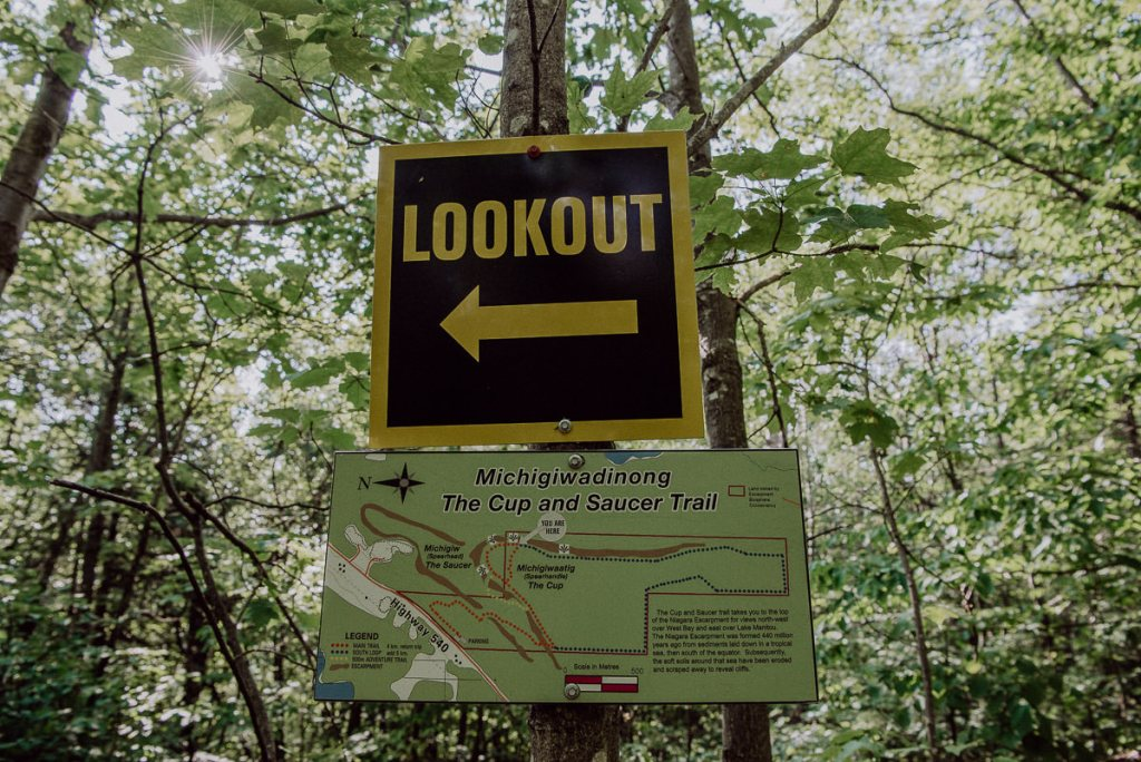 A Picture Guide to the Cup & Saucer Trail on Manitoulin