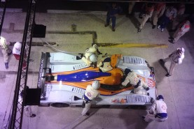 Aston pitstop at Le Mans