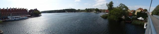 Panorama über den Spirdingsee
